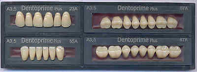 28 Stück Dentoprime Plus Zähne,Zahnersatz  Farbton A3,5 Kunststoff-Acrylic Teeth