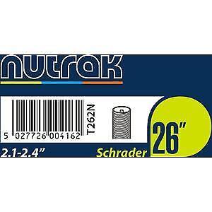 Schrader Tube Intérieur Nutrak 26 X 2.1-2.4 in environ 6.10 cm