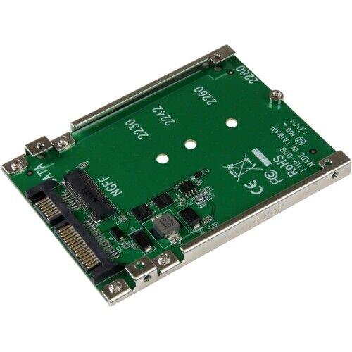 StarTech SAT32M225 StarTech.com M.2 NGFF SSD to 2.5in SATA Adapter Converter 1