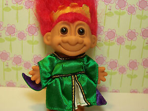 "NEW IN ORIGINAL WRAPPER TOURIST 5/"" Russ Troll Doll"