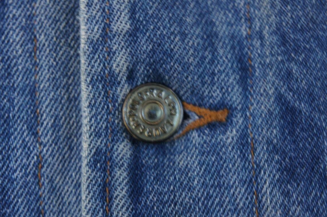 Vintage 80s Men's Ralph Lauren Polo Jean Jacket - image 10
