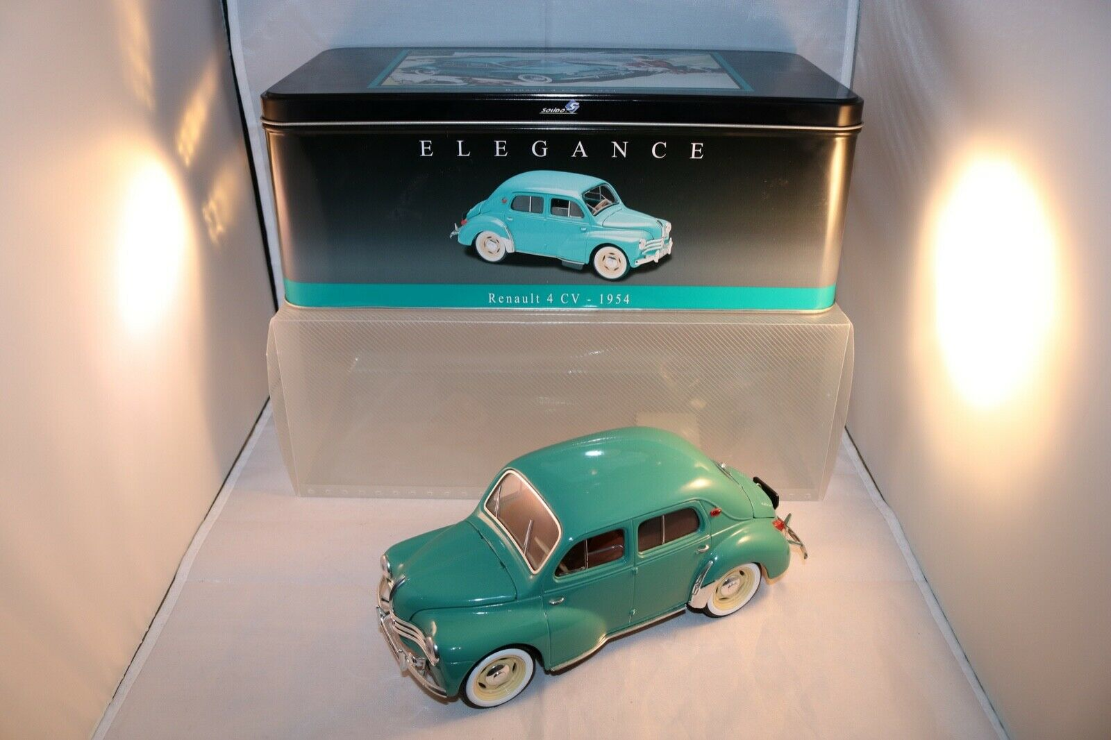 Solido Renault 4 CV in mint all original condition with original and outer box