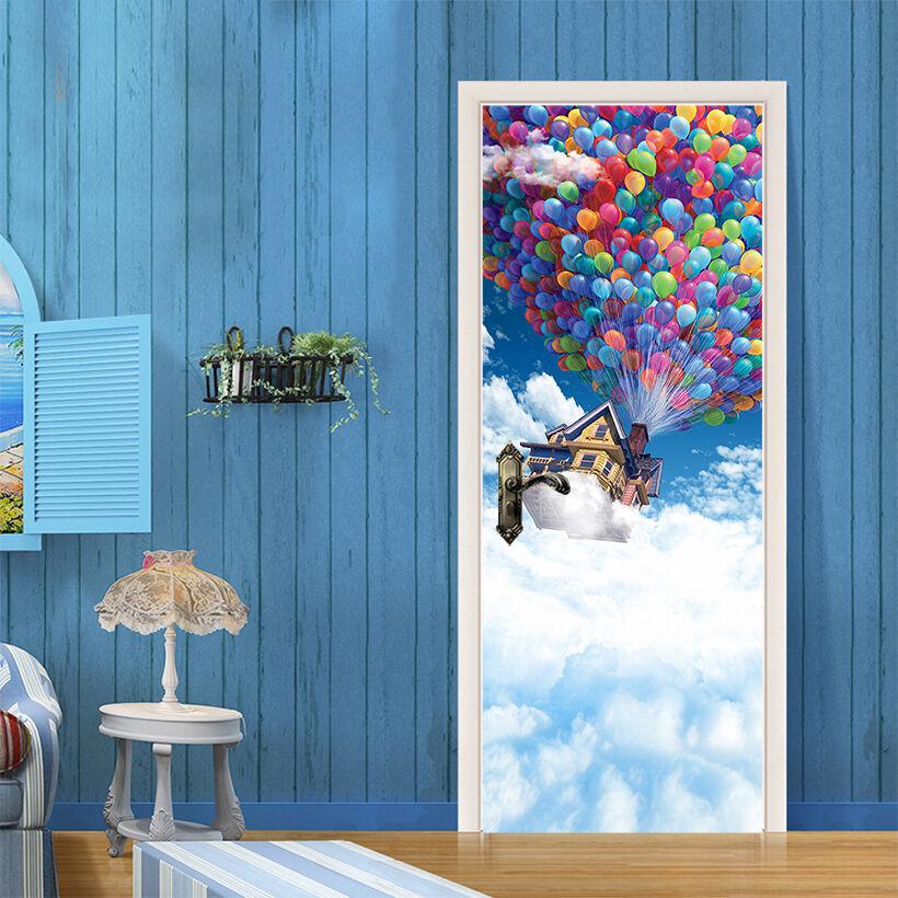 3D Der Ballon 87 Tür Wandmalerei Wandaufkleber Aufkleber AJ WALLPAPER DE Kyra