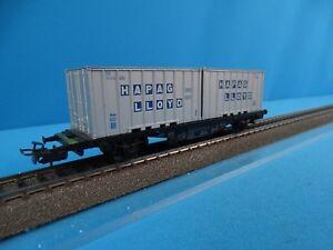 Marklin-4659-DB-Container-car-Hapag-Lloyd