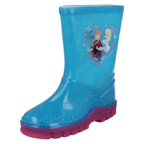 Girls Disney Frozen Wellingtons /'Anna and Elsa/'