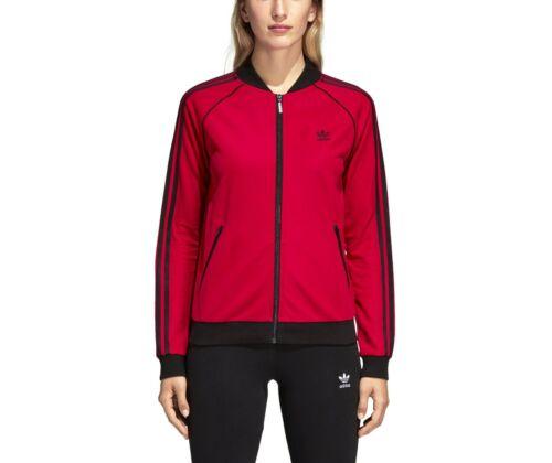 adidas Originals Women/'s Leoflage Pride Pink SST Tracksuit Track Top Jacket