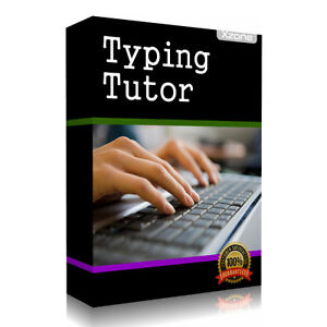 Professional Typing Tutor Software Learning Program - Learn to ...