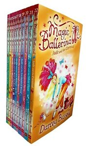 Magic-Ballerina-Darcey-Bussell-Holly-And-Jade-Series-10-Books-Collection-Set-NEW