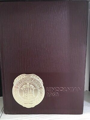 Lincoln Chiropractic College Lincolnian 1968 Yearbook | eBay