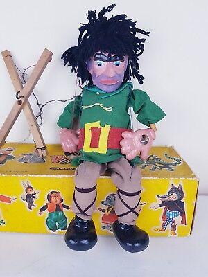 Dedicated Vintage Pelham Puppet - Giant - Sl19 - Original Box(1963)%rare%
