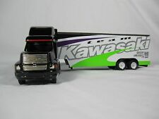 Winross 1995 TEAM KAWASAKI. Ford Aeromax Penthouse Dropbed Cargo Truck