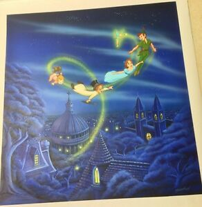 Disney/'s Peter Pan-Wendy,Michael /& John Edition 35mm Collector Film Cell