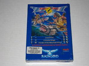 Knight-Orc-PC-IBM-DOS-1989-Sealed-Rare-Vintage-Rainbird-Game