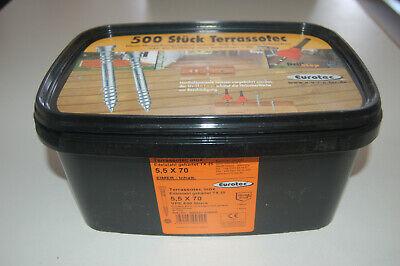 Terrassenschrauben Bauschrauben A2 Edelstahlschrauben Schrauben T-Drill VPE 200