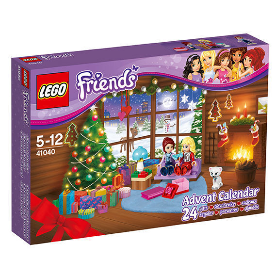 LEGO 41040 Friends Advent Calendario