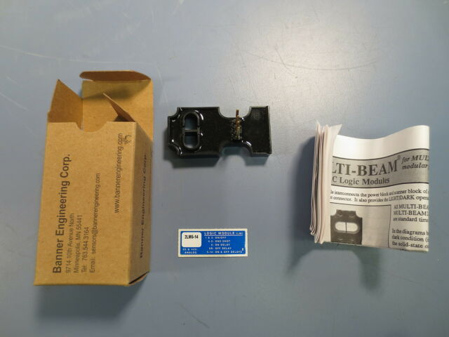 Banner Engineering MULTI-BEAM 2-wire AC Logic Module 2LM5-14 16544 NEW