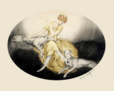 """Horse Thoroughbreds by Louis Icart 16/""""X20/"""" Vintage Poster FREE S//H in USA"""