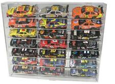 21 Car Slant Display Case 1/24 Scale Diecast NASCAR Model Cars Free Shipping