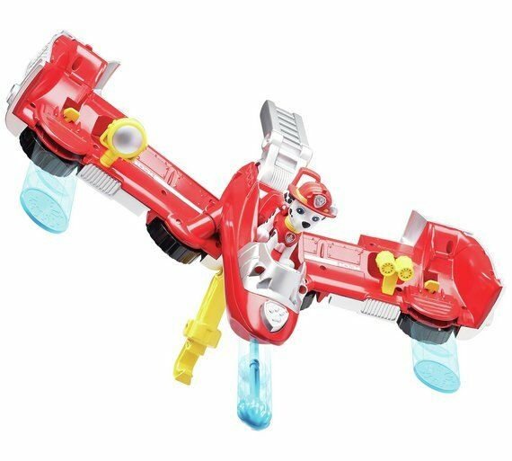 PAW Patrol Marshall Flip & Fly Transforming Vehicle Airborne Airborne Airborne Adventures Use NEW 34607f