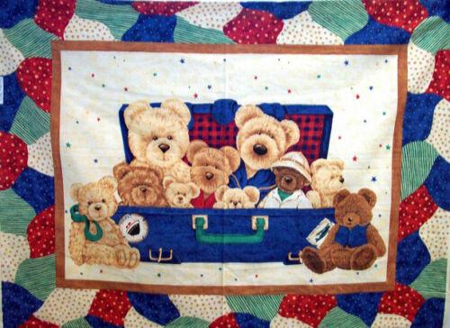 "1 /""Everyday Bears/"" Panel Fabric"