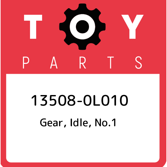 135080L010 Genuine Toyota Gear Idle No.1 13508-0l010 for sale ...
