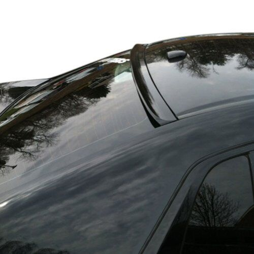 PAINTED HOLDEN COMMODORE SS V REDLINE VF SERIES REAR WINDOW SPOILERGLOSS BLACK