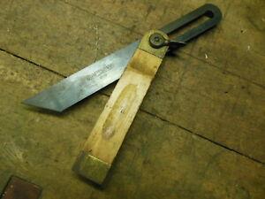 Vintage Craftsman 8 Adjustable Bevel Square Old Woodworker Layout