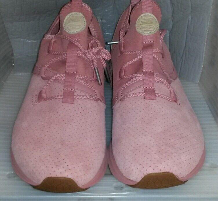 ULAZRLA nuevo para Hombre NEW BALANCE Zapatillas DusteD Durazno con tan tamaño 12