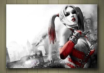 A4 A3 A2 A1 A0| Harley Quinn Batman DC Comics Poster Print T293