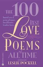 The 100 Best Love Poems of All Time - LikeNew - Pockell, Leslie - Paperback