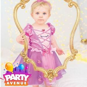 Image is loading Disney-Baby-Rapunzel-Toddler-Princess-Fairy-Tale-Fancy-  sc 1 st  eBay & Disney Baby Rapunzel Toddler Princess Fairy Tale Fancy Dress Up ...