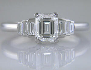 Diamond-Ring-Platinum-Certified-D-Colour-Flawless-Emerald-Cut-Engagement-1-45ct
