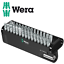 Case 30 Pieces Wera ® Stainless Steel Impact Driver Bit Set Metal//Wood//Plastic