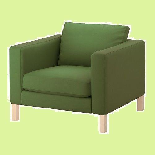 IKEA Karlstad Chair Cover NEW Sivik GREEN Armchair  NlP(DiscntMultiShpg)Slipcover