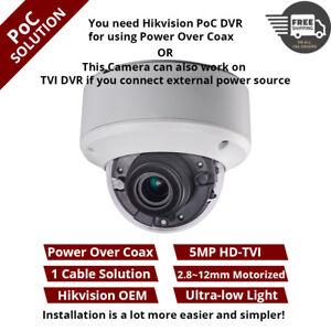 Hikvision DS-2CE56H5T-VPIT3ZE 5MP Dome