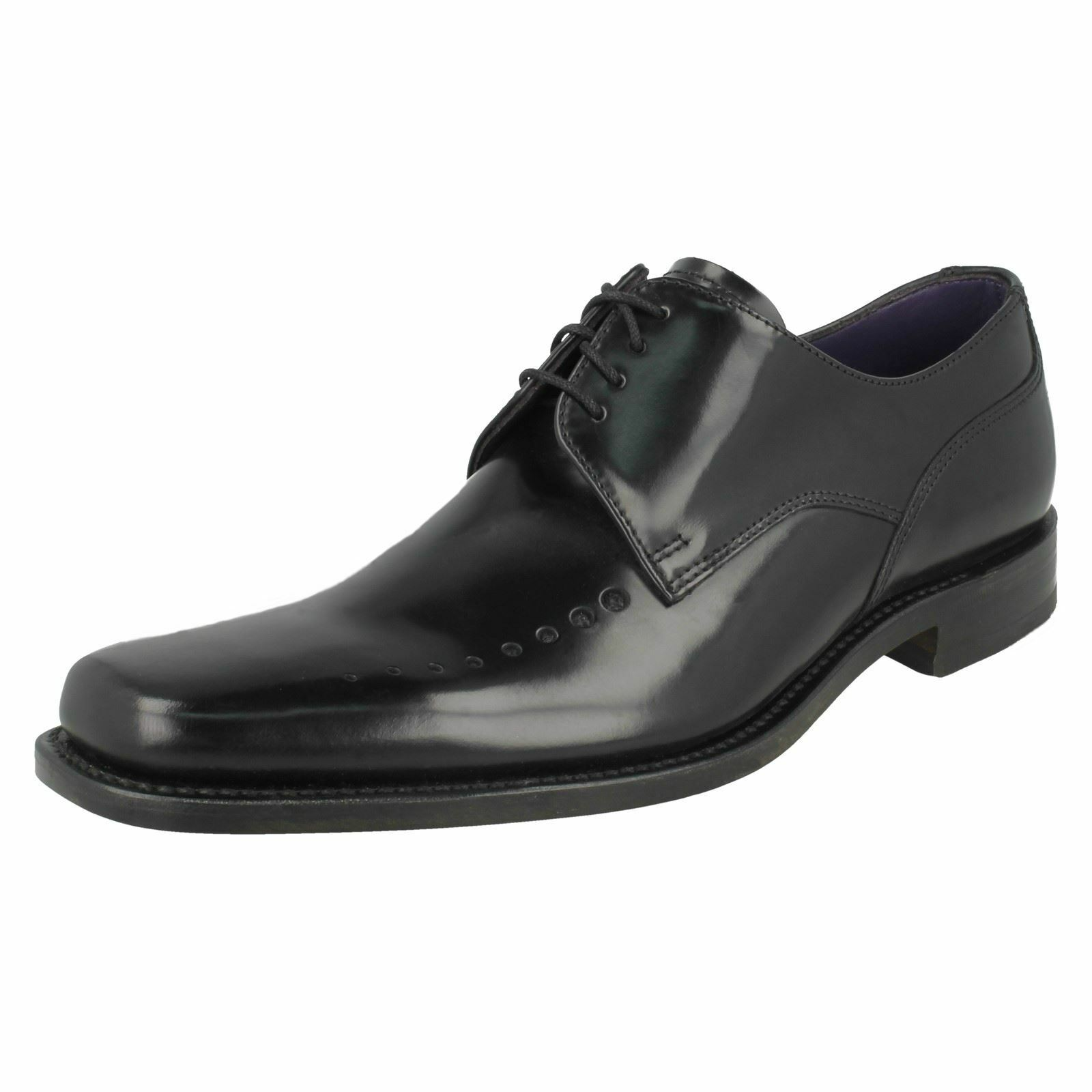 Mens Loake Smart Polished Leather Lace Up Shoes 'Poseidon'