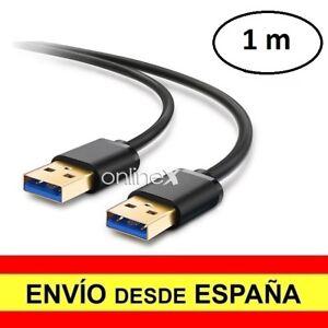 Cable-USB-3-0-Macho-Macho-Azul-Alta-Velocidad-Alargador-1-Metro-a3009