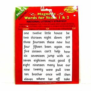 Magnetic-High-Frequency-Words-Pack-2-for-Years-1-amp-2-NEW