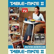 Table Mate 2 Multi Purpose Table Laptop 3 Angles 6 Height Adjustment Blue