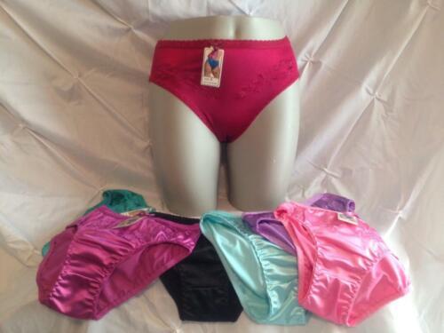Satin Hi Cut Bikini From Grace Assorted Sizes And Colors