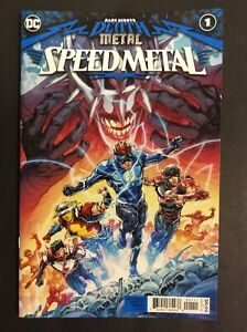 DARK NIGHTS DEATH METAL SPEED METAL 1 Main Cover 1st Print DC
