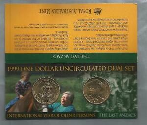 1999-1-ANZAC-amp-OLDER-PERSON-DUAL-SET-UNCIRCULATED