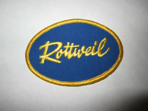 Vintage Rottweil Patch