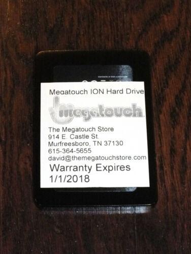 Megatouch ION 2011.5 Brand New sATA SSD Hard drive 2011 11 Rx Aurora Flash Memor