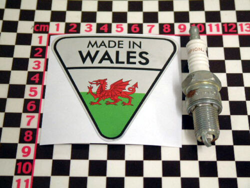 Made In Wales Chrome Autocollant Gilbern GENIE Invader davrian sticker aufkleber