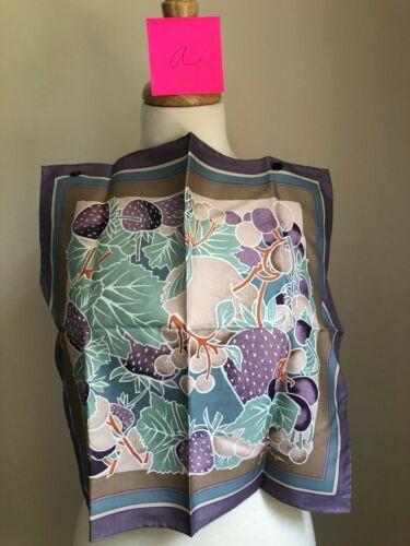 Pre-Owned JIM THOMPSON Thai Silk Scarf, 16x16, Str