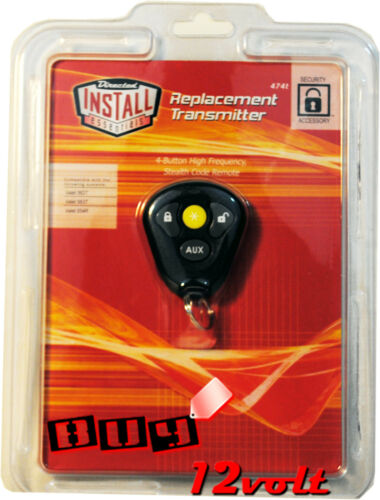 Directed DEI 474T 4-Button High Frequency Stealth Code Remote for Select Valet