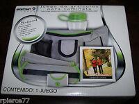 Sportcraft 5 In 1 Walking Kit - Weights, Pedometer, Bottle, Belt..nib In Spanish