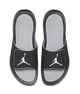5157c9b2ed2 Nike Jordan Hydro 6 Retro Slide Sandals, Size 9 - Black/Gray for ...