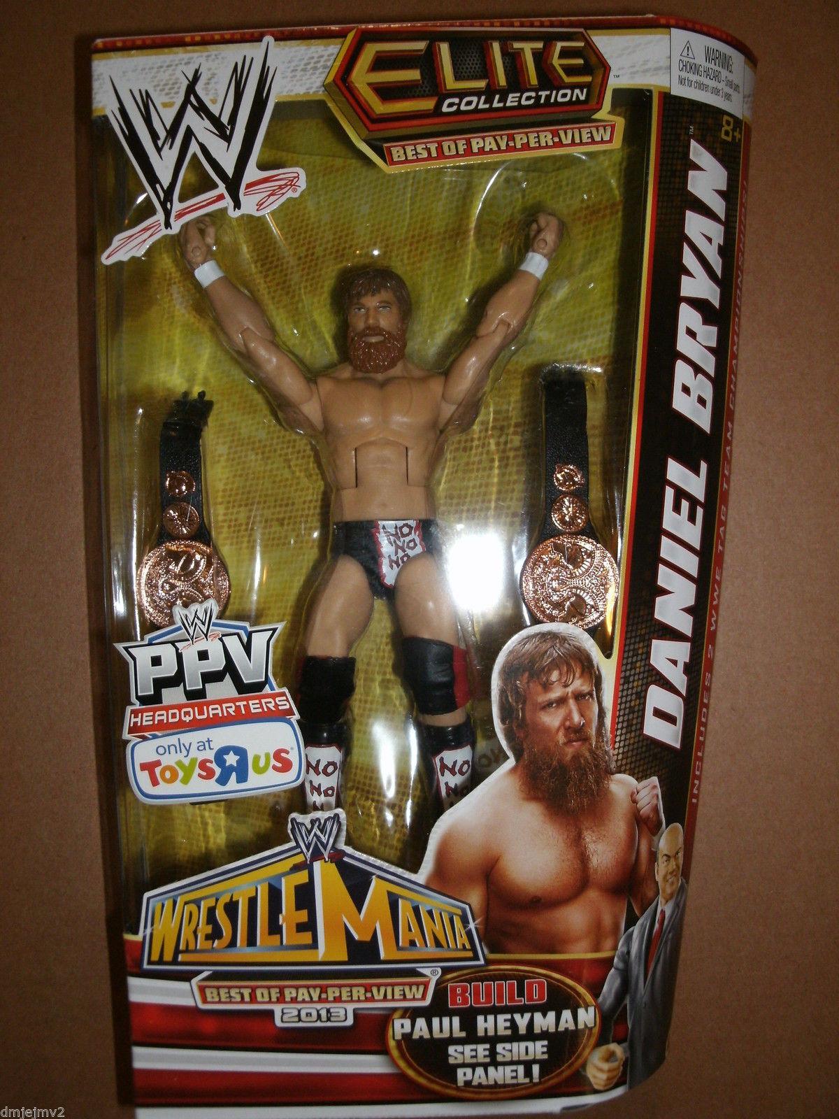 WWE DANIEL BRYAN ELITE TOYS R US EXCLUSIVE BEST OF PAY-PER-VIEW MATTEL FIGURE